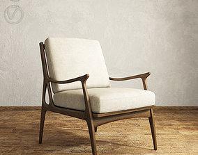 vray Bassett Serena Armchair 3D