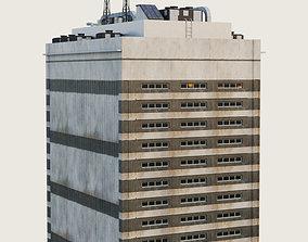 3D model Building Skyscraper City Town Downtown 4