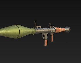 3D model RPG 7