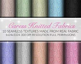 3D model Caress Fabrics Seamless Textures Set