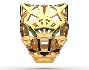 3D printable model beauty Pendant Cat Head