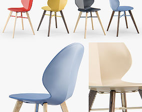 3D model Calligaris Basil W chair
