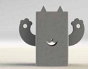Cat pen Holder 3D printable model