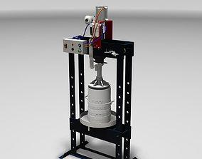 3D model Semi-Automatic separator Press