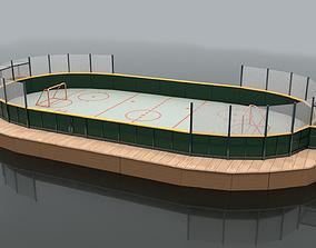 3D Hockey Rink