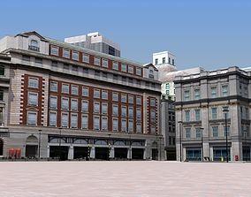 London Environment 3D asset