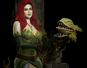 Steampunk Poison Ivy 3D printable model
