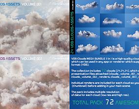 VDB Clouds MEGA BUNDLE 3 in 1 3D model