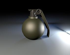 3D High Quality Grenade