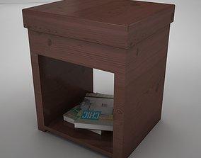 night table lamp 3D model