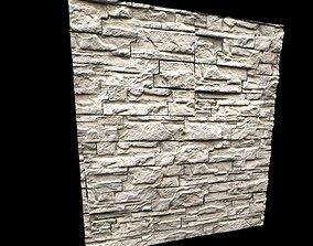 PBR - Stone Wall Tileable Texture 3D asset