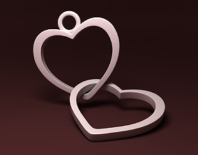 Simple Heart Necklace 3D printable model