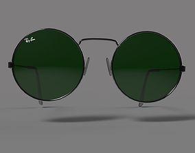 3D asset Sunglasses round 2