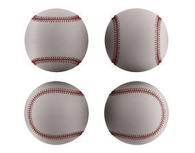 Baseball Ball game 3D model