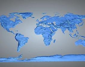 3D print model World Map