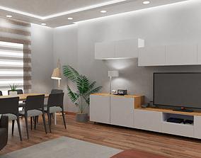 Living Room interior chair 3D model