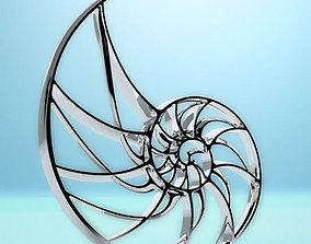 3D printable model nautilius part