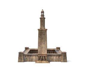 3D asset Lighthouse of Alexandria