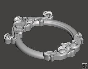 Mirror frame - 3d model for CNC