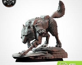 Wolffang Wolf 3D print model