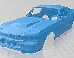 Mustang GT500 Eleanor Printable Body Car