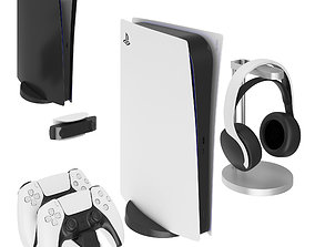 Playstation 5 Digital Edition 3D