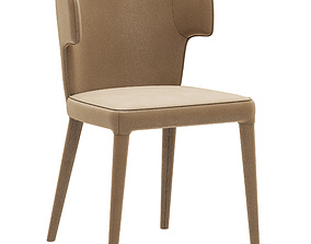 Coco Republic Melrose dining chair 3D model