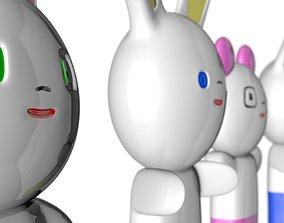 3D model Japanese Style Kawaii Figures