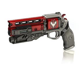 3D print model Not Forgotten Legendary Hand Cannon