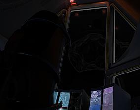 3D model Space shuttle cockpit