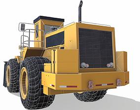 3D asset low-poly Wheel Loader E9137