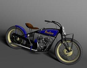 Indian Flat Track Racer 1928 3D model