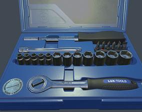 Tool Box box 3D model game-ready