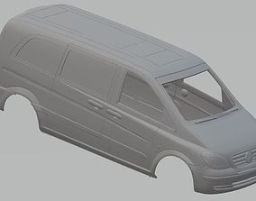 Mercedes Benz Vito 111 Printable Body Van