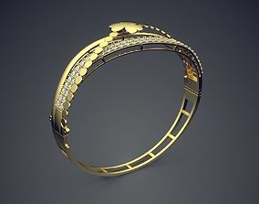 Bracelet with Diamonds and Small Cute 3D printable model
