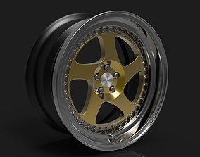 3D Rotiform TMB 3-piece wheel