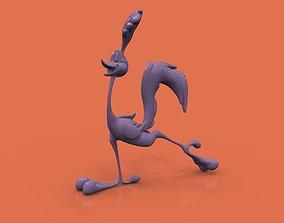 3D printable model Road Runner character