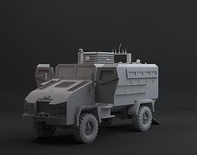 3D model VR / AR ready bmc kirpi mrap