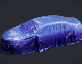 3D asset Tented Toyota Camry Car possibly