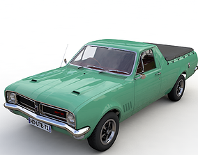 HOLDEN HG UTE GTS 1971 3D model