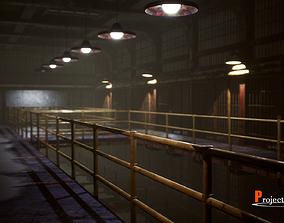 UE4 Prison Package V1- v001 3D model