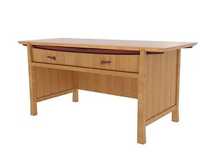 3D asset Homestyle Japanese Table Desk