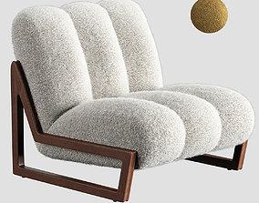 3D Theodore armchair