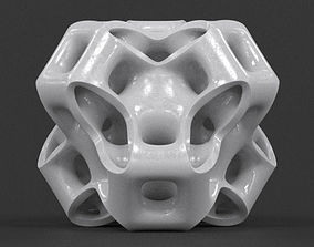 3D print model Cubic Gyroid Sculpture