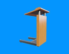 Flat Front Pulpit 3D model