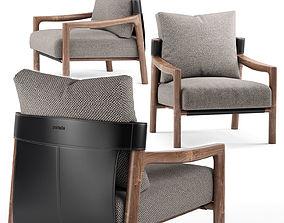Vera armchair - Porada 3D model