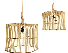 3D Rattan lamp bamboo 26