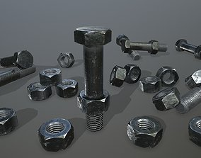 3D model game-ready Bolts