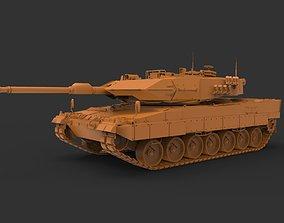 Leopard 2A6 3D print model