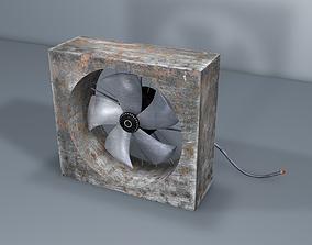 3D model Old Fan - industrial Fan